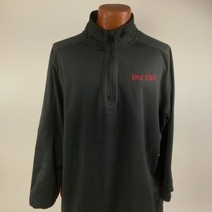 Nike Shirt Size L Half Zip Pullover Ohio State